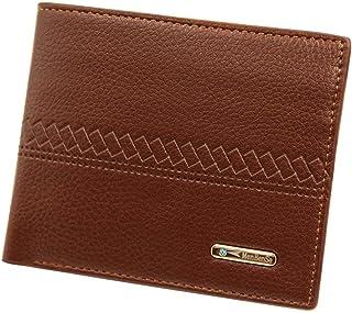 BeniNew casual men's money bag big capacity multi-card wallet-light brown