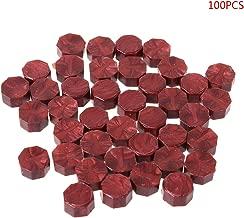 Rot Weinlese-altes Siegellack-Mehrfarbenpfeil-Muster-spezielles Wachs-Siegelwachs f/ür Hochzeits-Einladungs-Karten-Umschlag