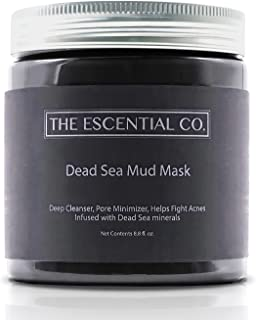 Dead Sea Mud Mask - 8.8 fl. Oz. - Facial Mask for Skin Care, Face Peel and Pore Reducer, Infused with Dead Sea Minerals - ...