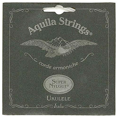 Aquila 101U Super Nylgut - Cuerdas para ukelele soprano (afinación abierta en sol, do mayor, sol/do/mi/la)