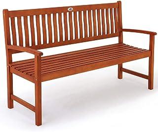 Deuba Banc de Jardin en Bois d'eucalyptus certifié FSC® 152 cm - Siège terrasse Jardin