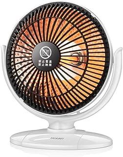 Calefactor aire caliente baño,Mini calentador casero Infrarrojo 220V 220W Calentador de aire eléctrico portátil Ventilador caliente 220 * 205MM Escritorio para invierno Hogar Baño @ blanco