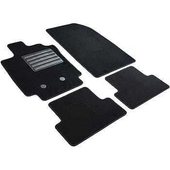 Textiler Trittschutz Set 4-teilig Passgenau f/ür Modell Siehe Details B/är-AfC RE04210 Classic Auto Fu/ßmatten Nadelvlies Schwarz Rand Kettelung Schwarz
