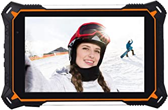 HiDON 8 inch Rugged Tablets Android 8.1 Octa core 400nits Normal Sunlight readable IP68 Waterproof Tablet with 10000mah Battery/Dual Band WiFi/GPS/Glonass