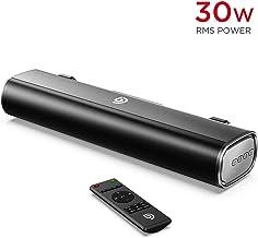 Mini Barra de Sonido 2.0 Canales para TV/PC, BOMAKER 30W