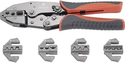 TOOLCRAFT PZ-506 430461 Krimptangset 6-delig Geïsoleerde kabelschoenen, Ongeïsoleerde, gesloten kabelschoenen, Open, on