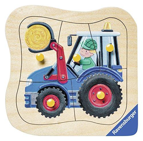 Ravensburger 03229 - Blauer Traktor
