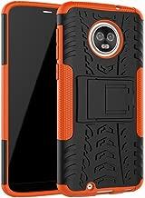 Moto G6 Case, Moto G (6th Generation) Case, Dooge Dual Layer Slim Thin TPU+PC Bumper Heavy Duty High Impact Durable Rugged Anti-Slip Shock Absorption Protective Case for Motorola Moto G6 2018