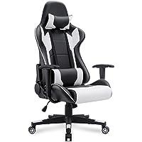 Homall Racing High Back Gaming Chair (Black/White)