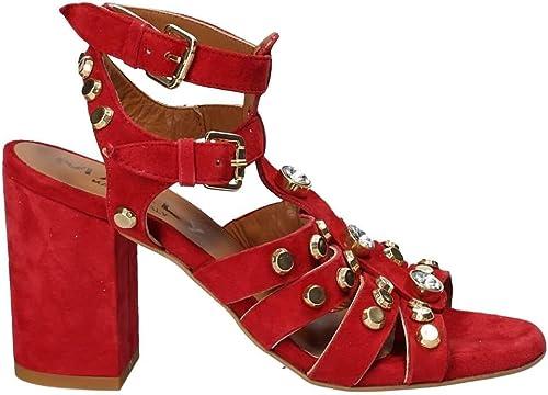 Mally 6123 Sandalen mit Absatz Frauen