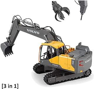 Full Metal base Huina 580 V3 CAT 320D Escavatore modello RC RTR