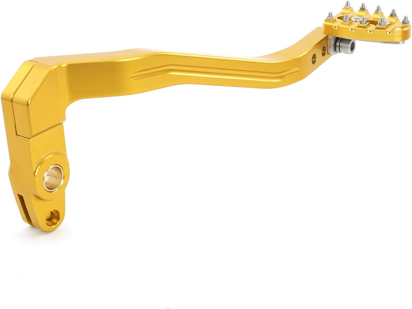 TARAZON Gold Brake Lever Japan's largest assortment Arm + Pedal Max 69% OFF Peg Shifter 1991 for Harley