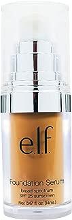E.L.F. Cosmetics, Beautifully Bare Foundation Serum, Broad Spectrum SPF 25 Sunscreen, Medium/Dark, 0.47 fl oz (14 ml) - 2pc