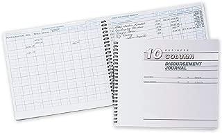 CheckSimple Cash Receipts Journal - 10 Column Disbursement Journal (1 Book)