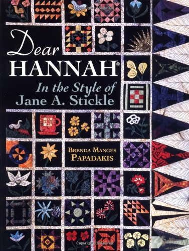 Dear Hannah: In the Style of Jane Stickle