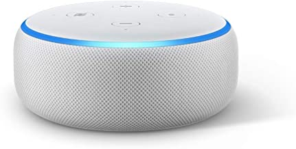 Certified Refurbished Echo Dot (3rd Gen) - Voice control your smart home with Alexa - Sandstone