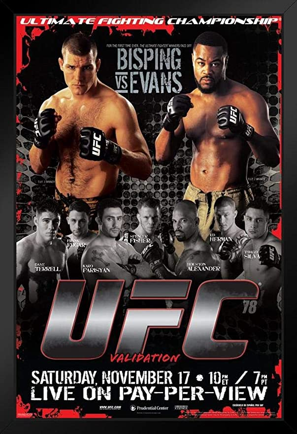 : 8x12inch-20x30cm Inch Size Gabcus UFC 199 Fight Luke Rockhold vs Michael Bisping Silk Poster Wall Painting 24x36inch -