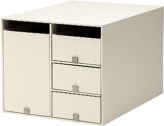 プラス 収納ボックス リビングポストIIY4L クリームホワイト LP-201Y4-L 85-663
