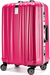 Wear-Resistant Mute Universal Wheel Travel Boarding Luggage Password Trolley case red 24 inch