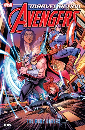 Compare Textbook Prices for Marvel Action: Avengers: The Ruby Egress Book Two Illustrated Edition ISBN 9781684055227 by Manning, Matthew K.,Sommariva, Jon