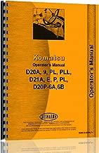Komatsu D21P Dsl Crawler (60001 & Up) Operators Manual