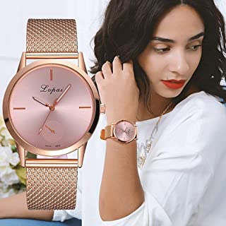 Women's Casual very charming for all occasions Quartz Silicone strap Band Watch Analog Wrist Watch Women Clock SoQ