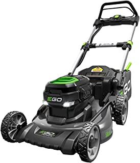 EGO Power+ LM2021 20-Inch 56-Volt Lithium-ion Cordless Battery Walk Behind Push Mower with Steel Deck - 5.0 Ah Battery and...