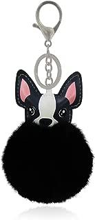 Unisex Fluffy Fuzzy Animal Pom Pom Keychain and/or Bag Charm