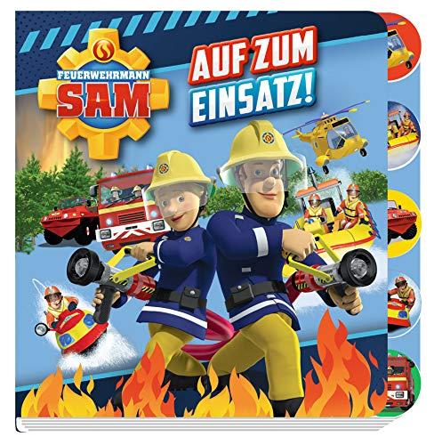 Feuerwehrmann Sam: Auf zum Einsatz!: Pappbilderbuch mit Register