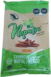 Churrito Nopal Orgánico y harina de maíz, 750 gr.