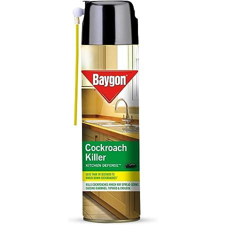 Baygon Cockroach Killer Spray, 400 ml