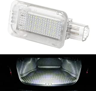 iJDMTOY Super Bright 2W High Power Xenon White Full LED Trunk Cargo Area Light Assembly For Honda Acura, Powered by 18-SMD LED Diodes