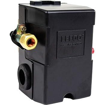 Phoenix 69mb9ly 135 175 Psi 1 Port Air Compressor Switch W Unloader Valve Auto Off Furnas Type Amazon Com