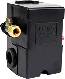 Pressure Switch for Air Compressor 95-125 psi Single Port HEAVY DUTY 26A Replaces HUBBELL FURNAS SQUARE D SIEMENS SEARS DEWALT CRAFTSMAN BLACK MAX JENNY BLACK AND DECKER