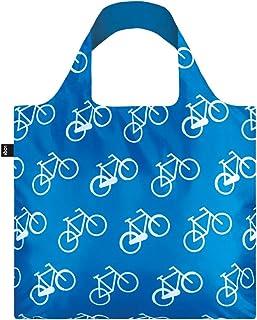 LOQI LQB1-TRBI Travel Shopping Bag, Bikes, L Capacity
