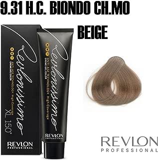 Revlon Revlonissimo High Coverage Matices, Tinte para el Cabello 931 Rubio Muy Claro Beige - 60 ml