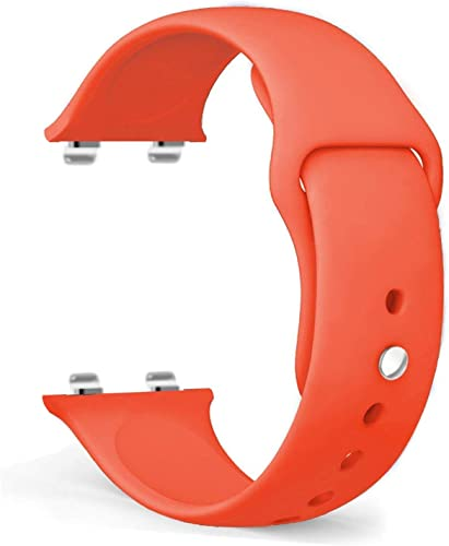 AEETZ Soft Silicone Band Strap For Oppo Watch 46Mm 46Mm Orange