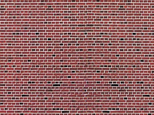 Vollmer 46042 Mauerplatte Klinker rot