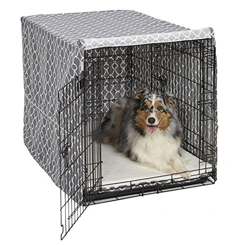 MidWest Dog Crate Cover Privacy Dog Crate Cover Fits MidWest Dog Crates Machine Wash amp Dry