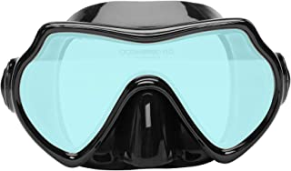 Oceanways Superview - AccuColor w/Anti-Fog Scuba/Spearfishing Dive Mask (OMA836BS)