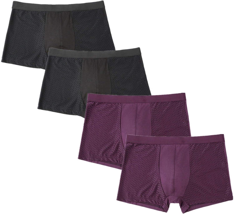 Mail order cheap NXDRSM 4pcs Multiple Cheap Underwear Short Men's