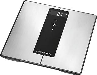 ProfiCare PW 3008 - Báscula baño digital Bluetooth con análisis corporal de 8 funciones diagnóstico, color negro