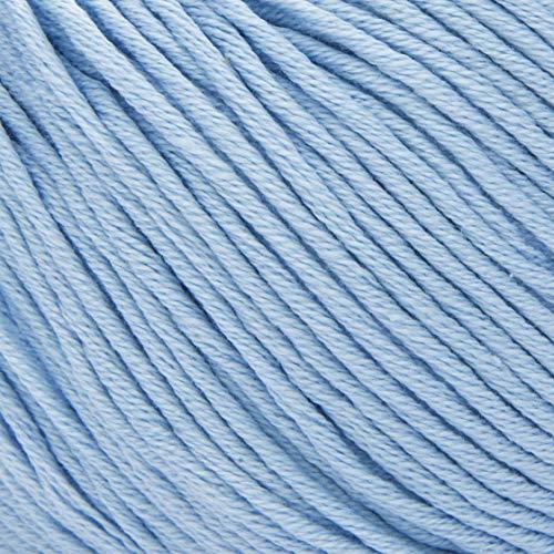 ggh Scarlett - 016 - Azzurro Chiaro - Maco Cotone per Maglieria e Uncinetto