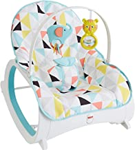 Fisher-Price Infant-to-Toddler Rocker, Geo Triangles