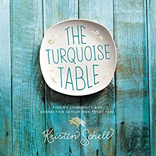 The Turquoise Table audiobook cover art