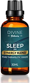 Essential Oils Aromatherapy Good Night Sleep Synergy Blend - Pure Best Therapeutic Grade - 30ml - Clary Sage Copaiba Balsa...