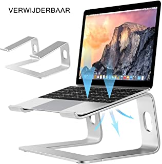 Laptop Stand, Detachable Laptop Stand, Ergonomic Aluminum Notbook Stand, with Cooling Tray, Can Be Used in Office, Travel,...