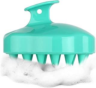 HEETA Scalp Massager, Updated Hair Shampoo Brush for Wet and Dry Hair, Scalp Massage Brush for Women, Men and Pet (Green)