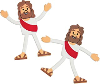 Fun Express - Bendable Jesus - Toys - Character Toys - Bendables - 24 Pieces