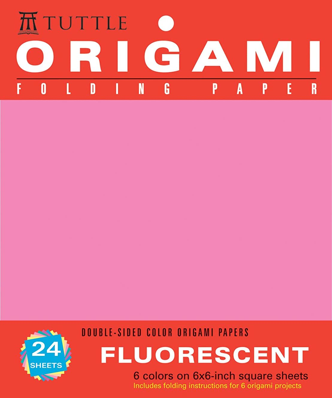 Origami Hanging Paper - Fluorescent 6